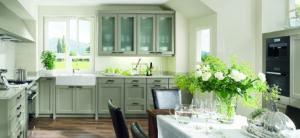 Keuken kader groen